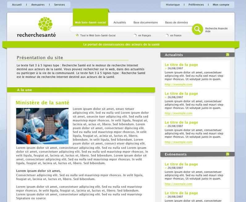 Apercu : recherchesante.fr